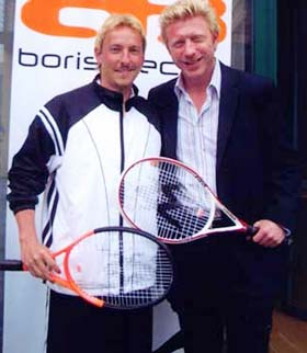 Boris Becker, Ausrüstungsvertrag BB Kollektion
